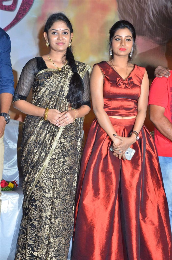 Sri Priyanka, Anisha Xavier @ Pichuva Kathi Audio Launch Stills