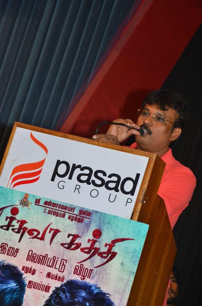 Perarasu @ Pichuva Kaththi Audio Launch Stills