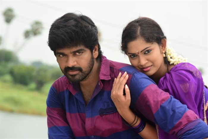 Inigo Prabhakaran, Sri Priyanka in Pichuva Kaththi Tamil Movie Stills