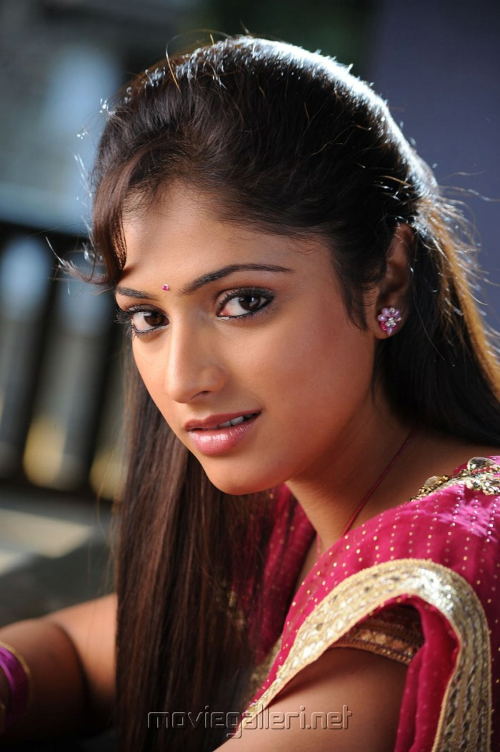 Pilla Zamindar Haripriya in Saree Stills