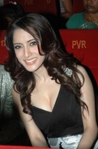 Tamil Actress Pinky Hot Pics in Black Dress