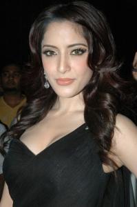 Tamil Actress Pinky Hot Stills in Black Dress