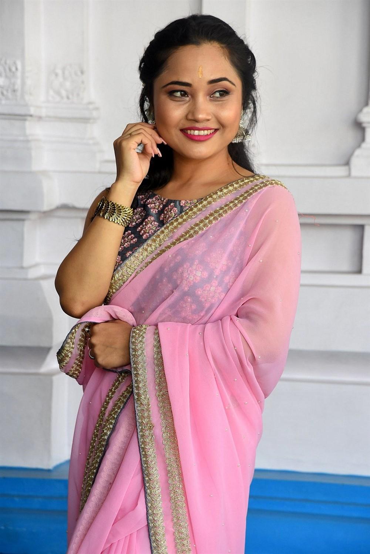 Actress Pinky Moni Saikia Photos @ Victoria Maharani Movie Launch