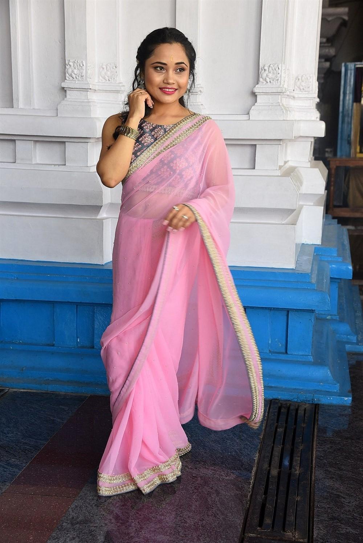 Actress Pinky Moni Saikia Photos @ Victoria Maharani Movie Opening