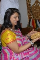 Pinky Reddy in Transparent Saree Photos