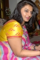 Pinky Reddy in Chiffon Saree Pics
