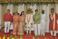YG Mahendran @ Lyricist Piraisudan Daughter Wedding Reception Photos