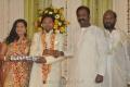 Vairamuthu @ Lyricist Piraisudan Daughter Wedding Reception Photos