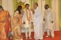 Muktha Srinivasan @ Lyricist Piraisudan Daughter Wedding Reception Photos
