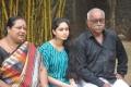 Actress Abhinaya with her Father & Mother
