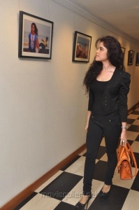 Gorgeous Pia Bajpai in Black Stills at Muse Art Gallery