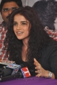 Actress Pia Bajpai in Black Dress at Back Bench Student Photo Exhibition