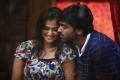 Ramya Nambeesan, Vijay Sethupathy in Pizza Telugu Movie Stills