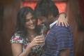 Ramya Nambeesan, Vijay Sethupathi in Pizza Telugu Movie Stills