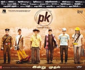 Aamir Khan PK Movie Release Posters