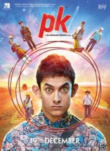 Actor Aamir Khan's PK Movie Release Posters