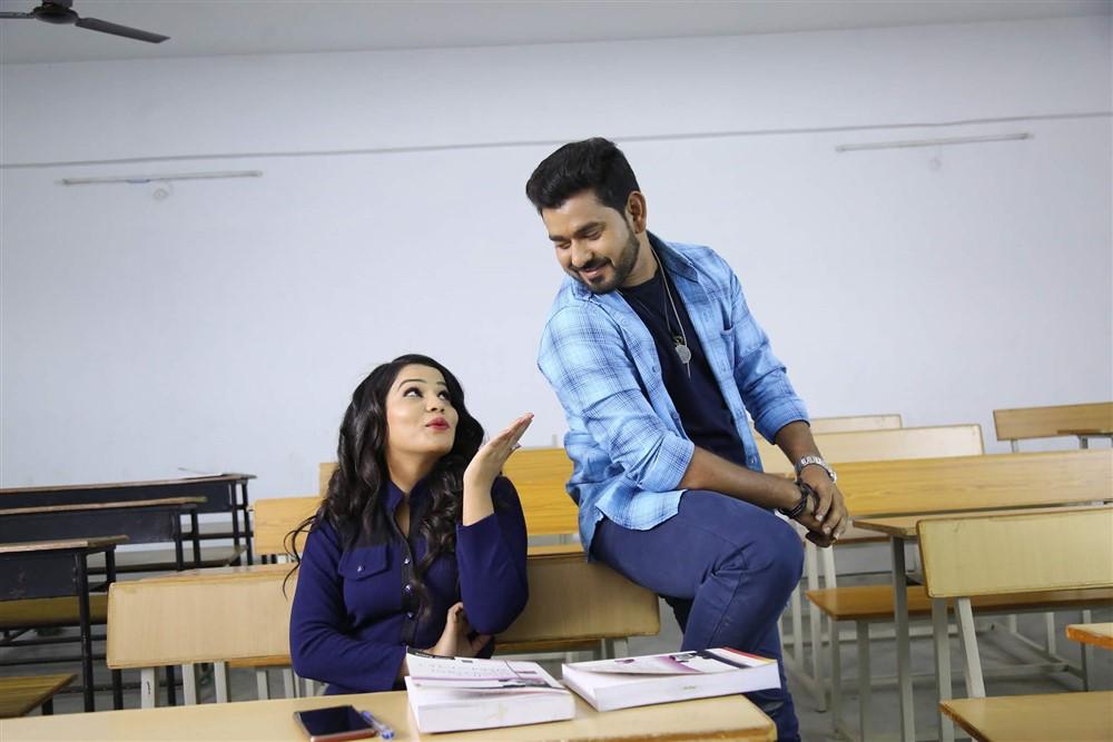Mamatha, Mahendra in Planning Telugu Movie Stills