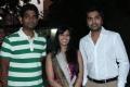 Vignesh Shivan, Simbu, Varalaxmi at Poda Podi Movie Press Show Stills