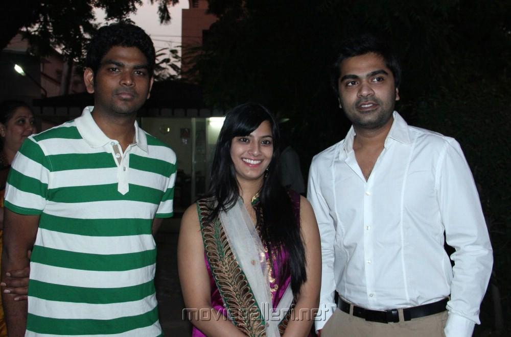 Vignesh Shivan, Simbu, Varalaxmi At Poda