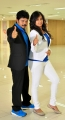 Sridhar, Spoorthi in Pokkiri Mannan Tamil Movie Stills
