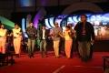 Sibiraj, Jeeva, Sathyaraj Dance @ Pokkiri Raja Audio Launch in Coimbatore Stills