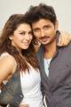 Hansika Motwani, Jeeva in Pokkiri Raja Movie Images