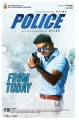 Vijay's Police Movie Release Posters