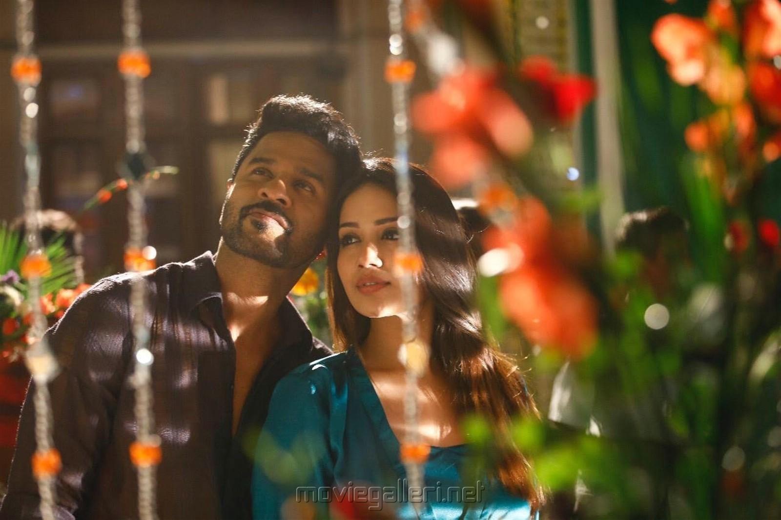 Prabhu Deva, Nivetha Pethuraj in Pon Manickavel Movie Stills