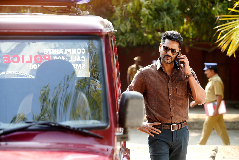 Actor Prabhu Deva in Pon Manickavel Movie Stills