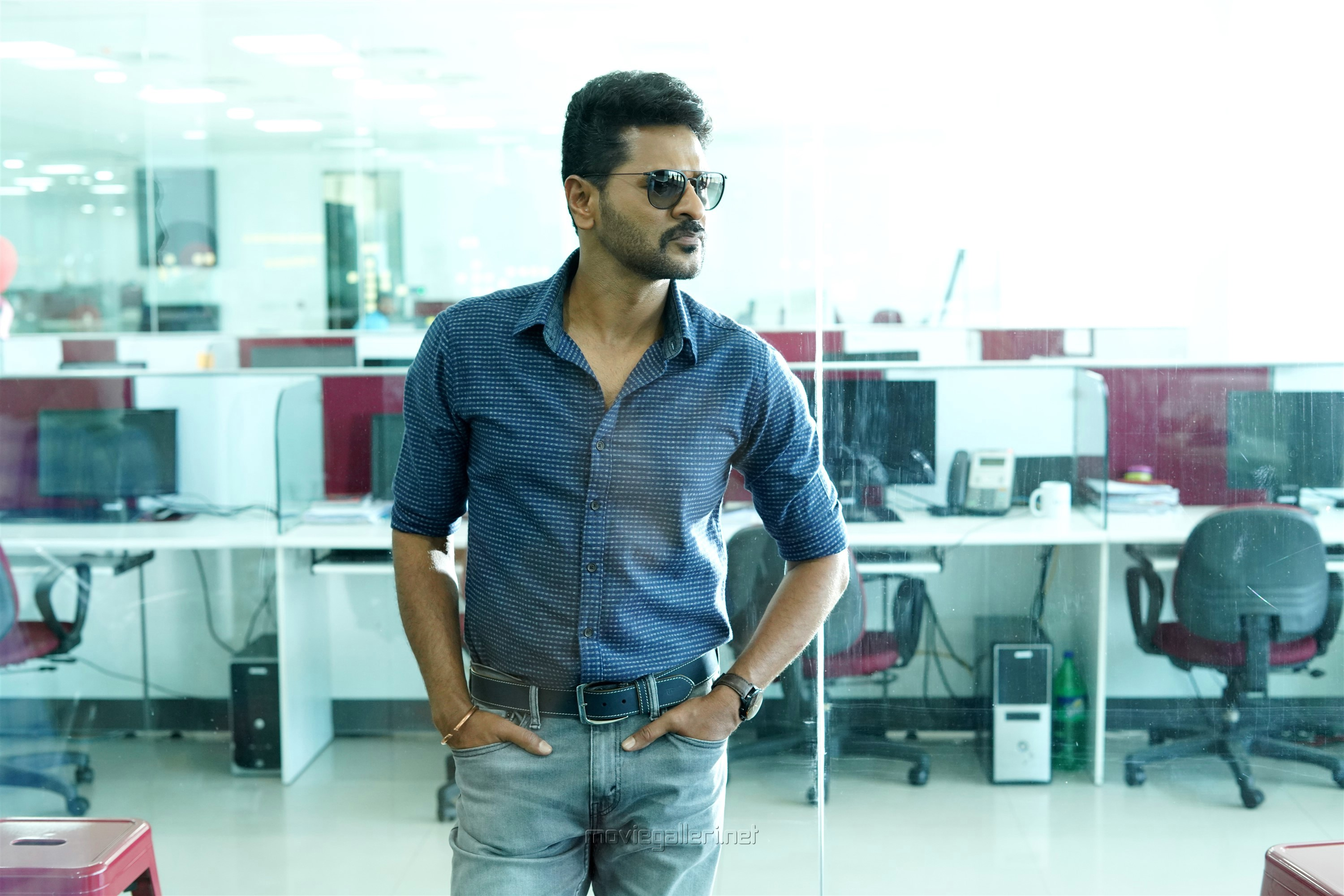 Actor Prabhu Deva in Pon Manickavel Movie Stills