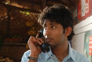 Actor Aadhav Kannadasan in Ponmaalai Pozhudhu Photo Gallery