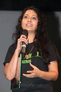 Tamil Actress Pooja at Kids Musical Concert Event Stills