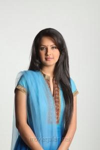Veedu Theda Actress Pooja Bose in Churidar Cute Photo Shoot Pics
