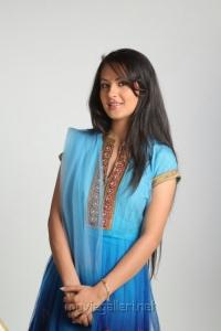 Veedu Theda Actress Pooja Bose in Churidar Photo Shoot Pics