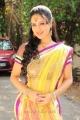Pooja Bose Cute in Saree Stills