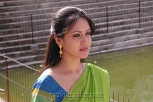 Pooja Bose in Half Saree Stills
