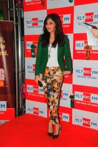 Pooja Chopra @ 92.7 BIG FM Diwali 2013 special show