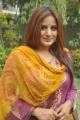 Actress Pooja Gandhi Cute Photos in Pink Salwar Kameez