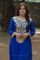Pooja Gandhi Photo Shoot Stills in Blue Churidar