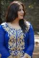 Actress Pooja Gandhi in Blue Designer Kameez with white Salwar