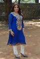 Pooja Gandhi in Blue Churidar Photo Shoot Stills