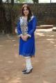 Pooja Gandhi Photo Shoot Stills in Blue Salwar Kameez