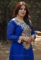 Actress Pooja Gandhi Hot Looking Stills in Blue Salwar Kameez