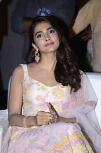 Heroine Pooja Hegde Photos @ Ala Vaikunthapurramuloo Movie Reunion Bash