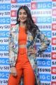 Actress Pooja Hegde Pics @ Samsung S20 Launch