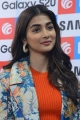 Actress Pooja Hegde Cute Smile Pics @ Samsung S20 Launch