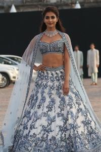 Tamil Actress Pooja Hegde Photos @ Lakme Fashion Week Day 3