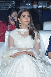 Actress Pooja Hegde Stills @ Most Eligible Bachelor Pre Release