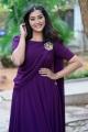 Bangaru Bullodu Movie Actress Pooja Jhaveri Images in Violet Dress
