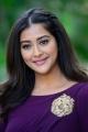 Bangaru Bullodu Movie Actress Pooja Jhaveri  Violet Dress Images